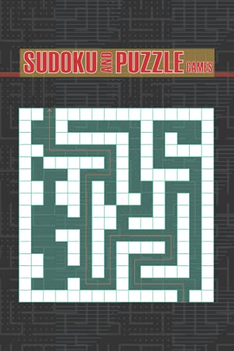 Sudoku and puzzle game: An amazing fun and challenging workbook for kids with games, puzzles, and problem-solving scholastic maze with solutions