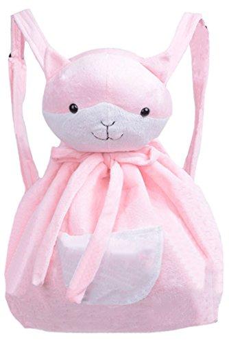 Halloween Chiaki Nanami rosa Katze Rucksack weicher Samt Kitty Tasche Gr. One size, rose