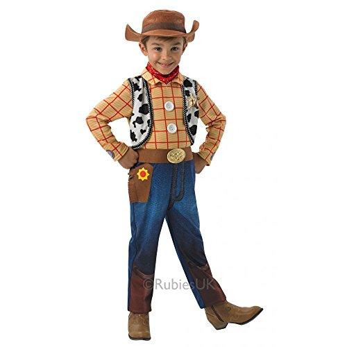 Deluxe Woody kostuum voor jongens - Toy Story