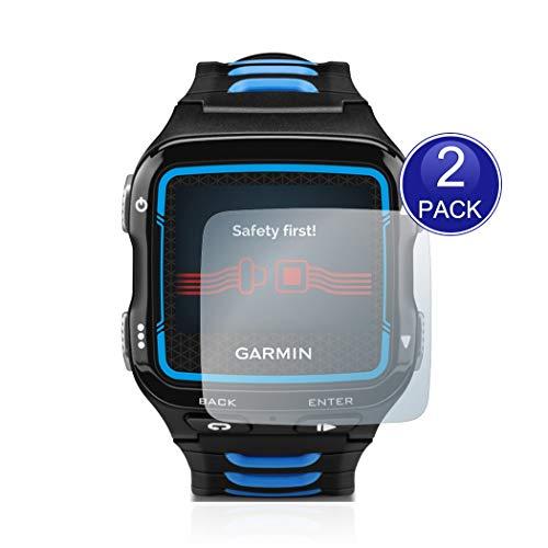 X-Dision [2 Pacchi] HD Proteggi Schermo Compatibile con Garmin Forerunner 920XT, 0,26mm HD Screen Protector, 9H Protezione in Vetro Temperato, Anti-graffio, più Protezione