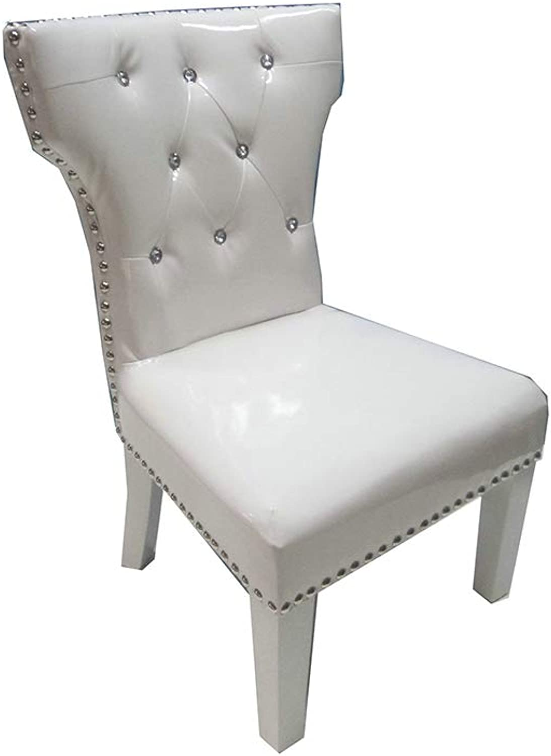 White Chair with Studs By Tickle Toes