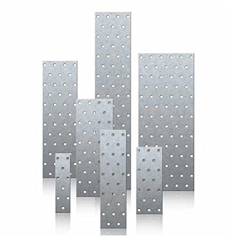 25 Stück Lochplatte 100 x 300 x 2.0