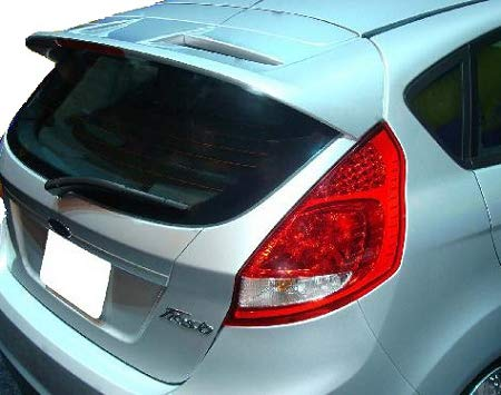 Accent Spoilers - Spoiler for a Ford Fiesta 5-Door Factory Style Spoiler-Candy Red Paint Code: U6