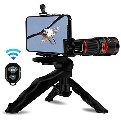 MeterMall CE 20X Telefoon Telefoon Telefoon Telefoon Lens Zoom Telefoon Sterker Telefoon Statief Draadloze Afstandsbediening Foto Houder voor iPhone, Samsung, iPad en de meeste Smartphones