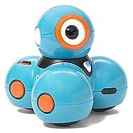 Wonder Workshop Dash – Coding Robot for Kids 6+ – Voice Activated – Navigates Objects – 5 Free Programming STEM Apps – Creating Confident Digital Citizens