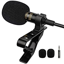 Gift Pop Voice Professional Lavalier Lapel Recording Microphone