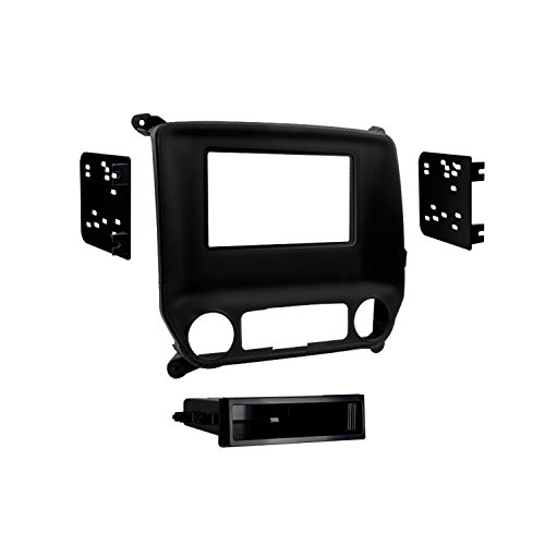 Metra 99-3014G Chevy Silverado and Sierra 2014-UP Single DIN/Double DIN (Black)