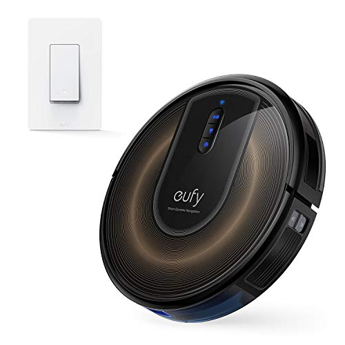 eufy RoboVac G30 Edge, Robot Vacuum with Smart Dynamic Navigation 2.0, Robot Vacuum Cleaner丨eufy by Anker, Smart Switch, Amazon Alexa, and The Google Assistant Compatible, Wi-Fi, Control from Everywhe