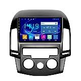 Flower-Ager Android Car Radio para Hyundai I30 2006-2011 Navegación GPS 2.5D Pantalla Táctil Capacitiva De Bluetooth Car Stereo Player WiFi FM Radio,Manual