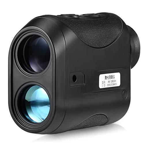 Festnight Outdoor Compact 7X25mm -Entfernungsmesser 600m Entfernungsmesser Golf-Entfernungsmesser Jagd Monokular-Teleskop Entfernungsmesser Geschwindigkeitstester Digitaler Monokular-Entfernungsmesser