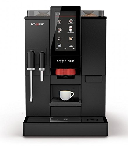 Schaerer Coffee Club Kaffeevollautomat, Frischmilch, Wassertank inkl. CF Kaffee
