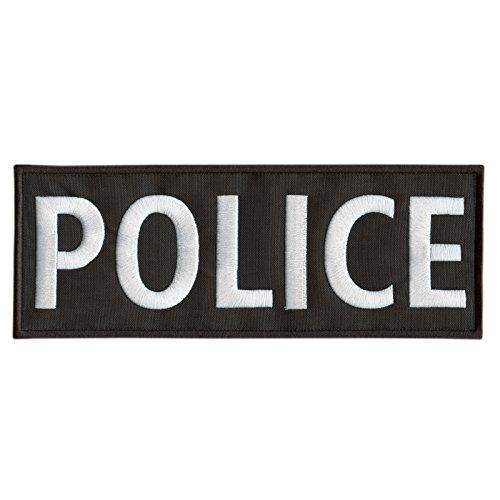 POLICE Large XL 10x4 inch SWAT Vest tactisch geborduurd nylon hook-and-loop patch
