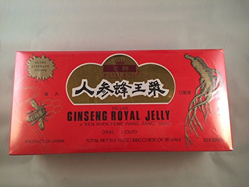 Royal King Deluxe Ginseng Royal Jelly Oral Liquid...