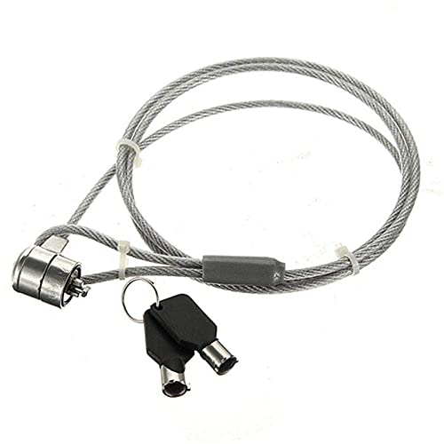 Candado Pad Cable Cadena Correa Candado Portátil para portátil con 2 Llaves Candado de Bolsa Combinación de Equipaje Candado de combinación
