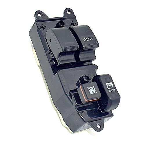 LINMAN 84820-12450 84820-152090 Interruptor de Control Maestro de la Ventana del Poder Delantero, Compatible con Toyota Yaris Corolla CDE110 WZE110 ZZE111 1997-2002
