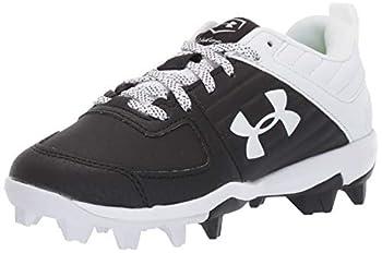 Under Armour Boys  Leadoff Low RM Jr Baseball Shoe Black  001 /White 13K Little Kid 4-8 Years