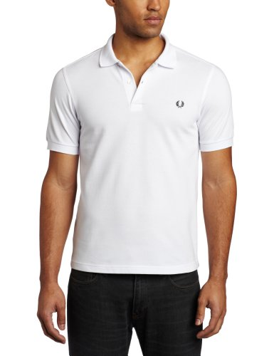 Fred Perry Herren M6000-100-xl Poloshirt, Weiß (White 100), X-Large