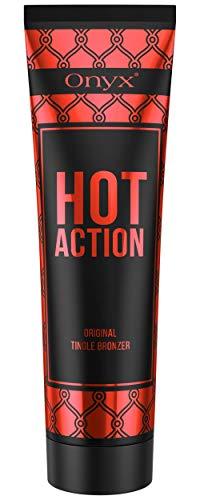 Onyx Hot Action Tingle Tanning Lotion - Dark Indoor Factor Bronzer