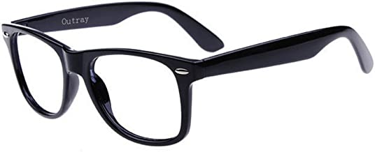 Outray Unisex Retro 80' Clear Lens Glasses