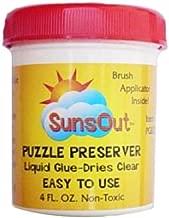 Best sunsout puzzle glue Reviews