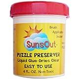 Best Puzzle Glues - Sunsout Puzzle Preserver Glue Review