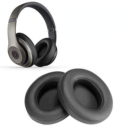 Replacement Earpads, WADEO 2 Pieces Foam Ear Pad Cushion for Beats Studio 2.0 Wired/Wireless B0500 B0501 Headphone & Beats Studio 3.0