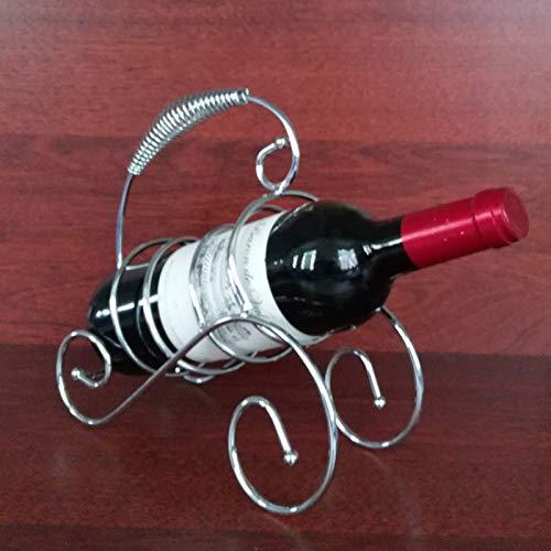 Kreative Einfache Schmiedeeisen Wein, Rackwagen Flaschenhalter Lagerung Hochzeit Dekor-Verzierung Geschenk, Wohnzimmer Schrank Küche Haben Griff,B