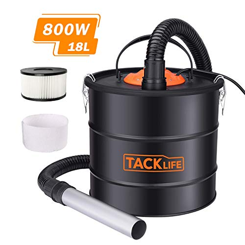 TACKLIFE Aspirateur à cendres,...