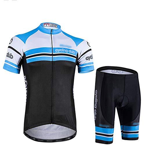 GONGMICF Hombre Ropa Ciclismo,Maillot Ciclismo Corto,Que Absorbe El Sudor Maillot Ciclismo +...