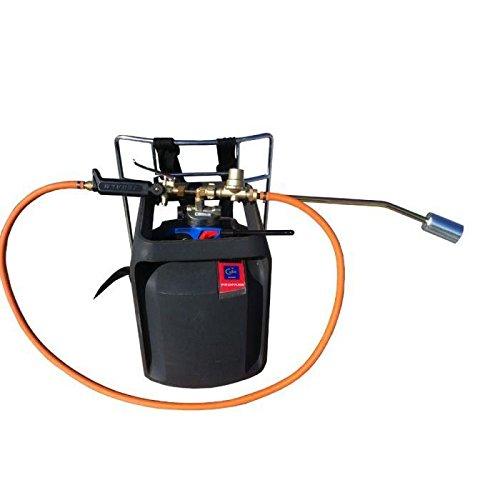 2EBALM 3760113030482 Portaflam +, Noir/Orange, 50x38x13 cm