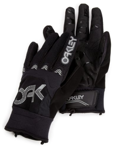Oakley Herren Handschuhe Heritage Pipe Gloves, Black, XL, 94119-001