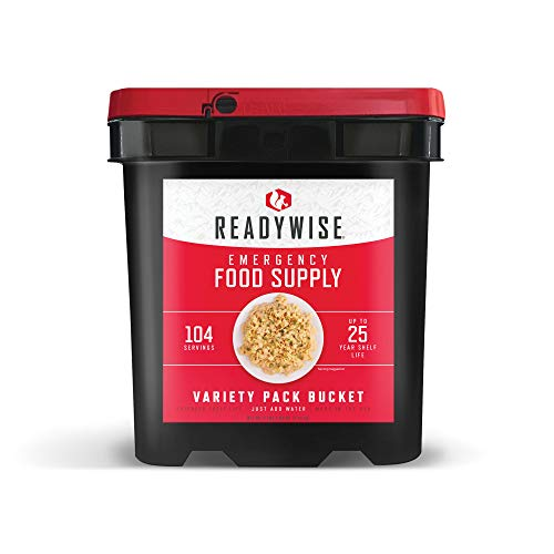 Wise Company ReadyWise Emergency Freeze-Dried Food   Quick to Prepare   25 Year Shelf-Life