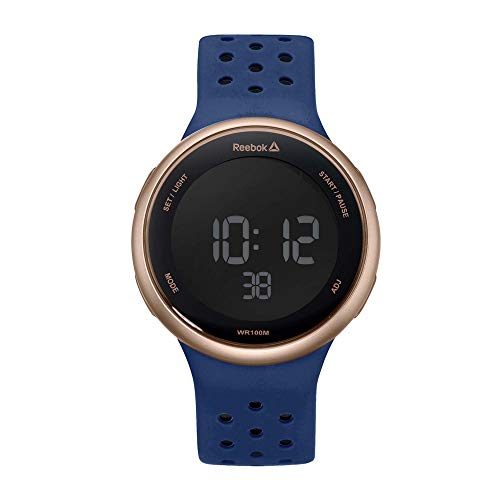 Reebok Reloj Hombre de Digital con Correa en Silicona RD-ELE-G9-P3IN-B3