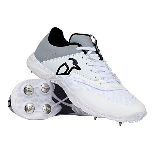 Kookaburra Kc 3.0, Unisex Cricket Spike Schuhe 46 Weiß/Grau