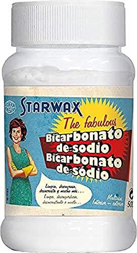 Starwax The Fabulous Bicarbonato de Sodio 500gramos - Limpiador Multiusos. Elimina la Grasa, el Mal...