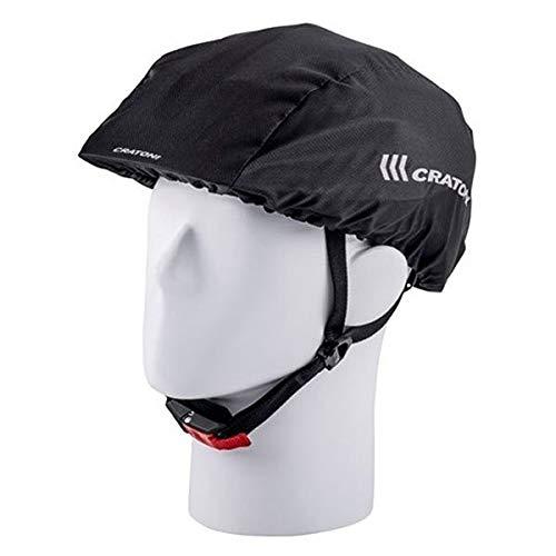 Cratoni Unisex - Casco de Bicicleta para Adultos, Color Negro, Talla única
