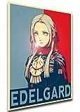 Instabuy Poster - Propaganda - Fire Emblem Three Houses - Edelgard A3 42x30