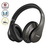 Mpow H20 Bluetooth Kopfhörer Over Ear, 30 Stunden Spielzeit, Kabellose Hi-Fi-Deep-Bass-Kopfhörer,...