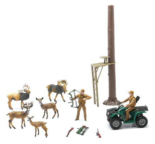 New-Ray Toys Wild Life Hunter Deer Hunting Play Set