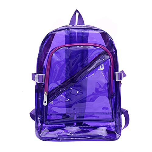 Mochilas Impermeables Unisex para Hombres Y Mujeres, Morrales De PVC Transparente para Adolescentes, Bolsa Escolar A La Moda, Bolsa Escolar A La Moda