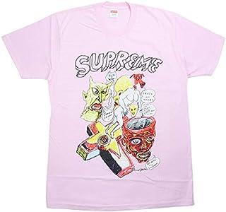 SUPREME シュプリーム ×Daniel Johnston ダニエル ジョンストン 20SS Tee Tシャツ ピンク L 並行輸入品