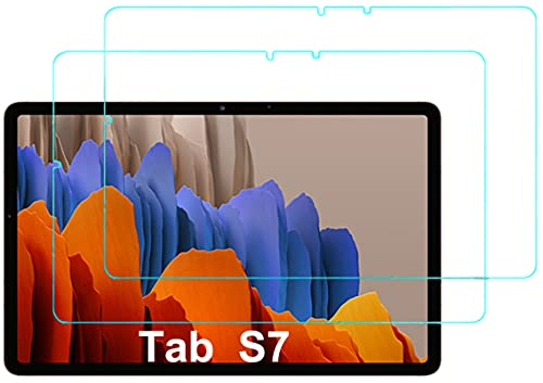 Eachy Cristal Templado Samsung Galaxy Tab S7 (SM-T870/T875), [2 Unidades] Protector de...