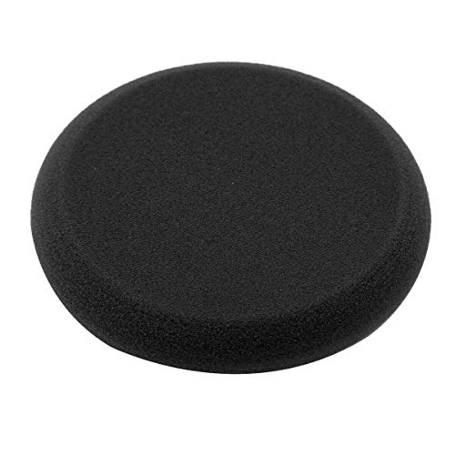 FairOnly Car Wax Sponge Applicators High Density Wax Bandage Sponge No Edge Design Circular Applicator Be-st for Round Waxing Black Car Cleaning and Renovation Products