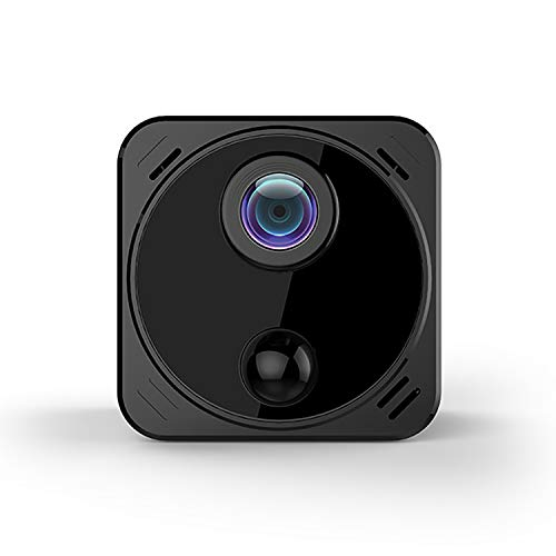 Mini Spy Camera Wireless Hidden Camera with Audio Live Feed Wifi, Tiny Spy Nanny Cam with 4k Full HD Night Vision/Motion Detection, Micro Security Camera for Car,Home,and outdoor (with Cell Phone APP)