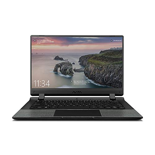 Avita Essential NE14A2INC433-CR 14-inch Laptop (Celeron N4000/4GB/128GB SSD/Window 10 Home in S Mode/Integrated Graphics), Concrete Grey