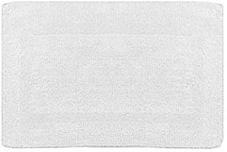 Wamsutta Reversible 21-Inch x 34-Inch Bath Rug in White