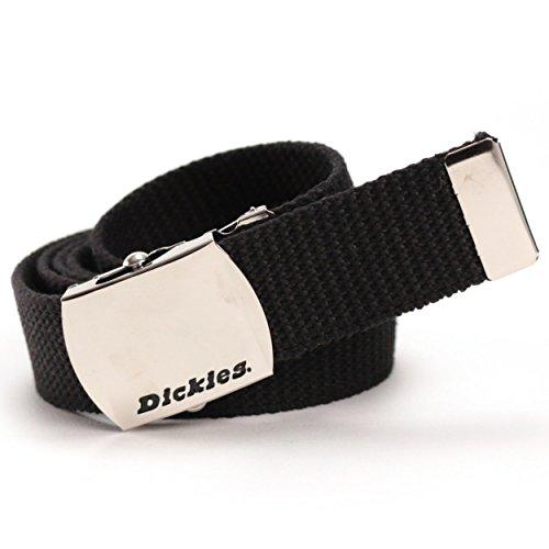 Dickies(ディッキーズ) 35mm幅 GIベルト ガチャベルト 無地 DS0741I (01:ブラック)