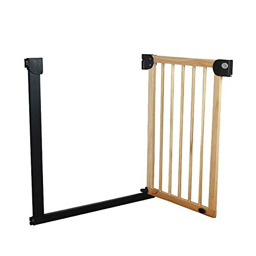 Best Review Of Huo Extra Wide Baby Gate Pressure Mounted Indoor Safety Gates for Stairs Hallway Door...
