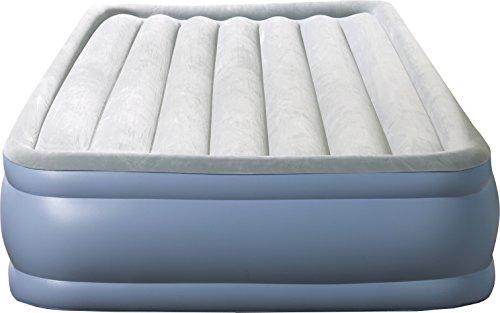 Beautyrest Hi-Loft Inflatable Mattress: Raised-Profile Air Bed with External Pump, Full