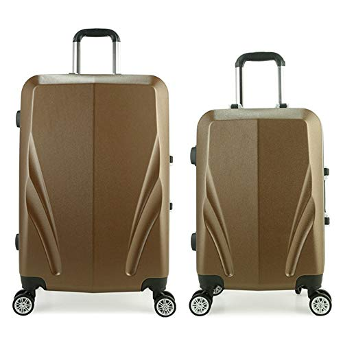 Lowest Price! Trolley Suitcase Lightweight Suit With Lock Hard Shell Pilot Travel Luggage Trolley Su...